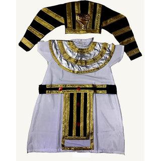 Egyptian King Pharaoh Fancy Dress Costume For Kids