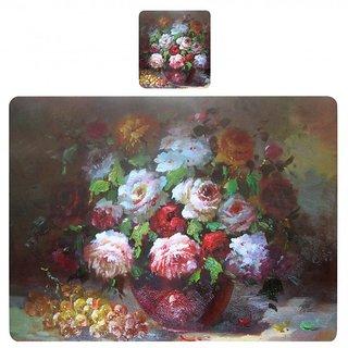 winner multicolour printed table mat placement mat-kitchen mat, 30005247