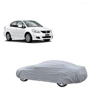 RideZ Car Cover For Maruti Suzuki Swift Dzire (Silver Without Mirror )