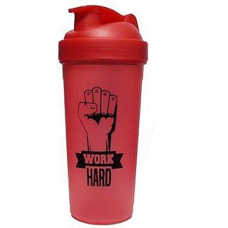 NAUGHTY BEAR RED GYM SHAKER SIPPER WATER BOTTLE 600 ML