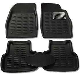 Autofurnish Premium 3D Car Mats Maruti Swift Dzire (Black)