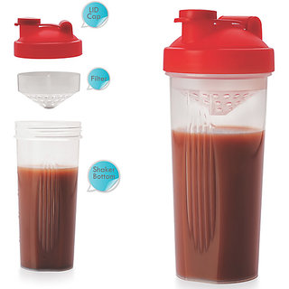 Plastic Protein Shaker/Sipper NakodaEasy with Strainer