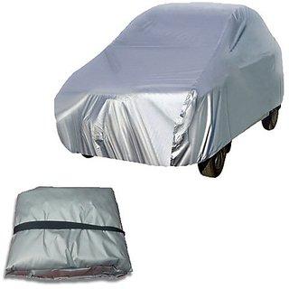 Autoplus car cover for Tata Indica Car Body Cover silver colour