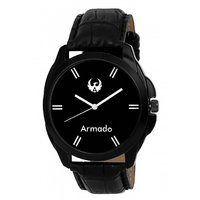 Armado AR-022 Black Elegant Analog Watch-For Men