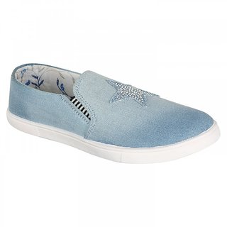 Clymb Z-3 Sky Blue Loafer For Women In Various Sizes