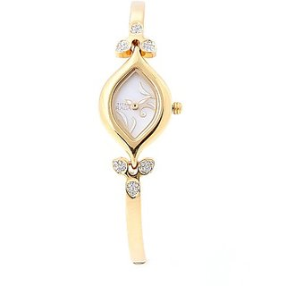 Titan Quartz White Rectangle Women Watch 2012YM04