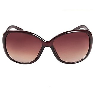 Louis Geneve Stylish  Fashionable Sunglasses For Women Round LG-SG-19-BR-BROWN