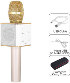 A Five Q7 Karaoke  Mic with Bluetooth Speaker