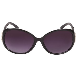 Louis Geneve Stylish  Fashionable Sunglasses For Women Round LG-SG-22-B-BLACK