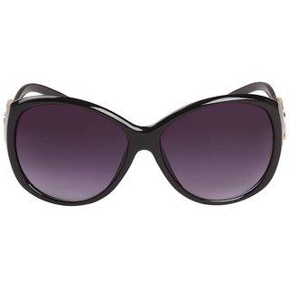 Louis Geneve Stylish  Fashionable Sunglasses For Women Round LG-SG-28-B-BLACK