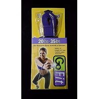 Go Fit Super Resistance Band 20 - 35 Lbs Purple 80 Loop