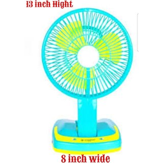 Kudos Rechargeable Portable Mini Fan With Led Light