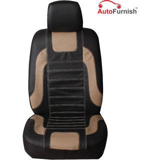 Autofurnish (UR-9001 Impose) Universal Leatherite Car Seat Cover with Head Rest