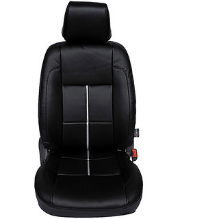 Autofurnish (CZ-103 Diva Black) Toyota Innova New 8S Leatherite Car Seat Covers