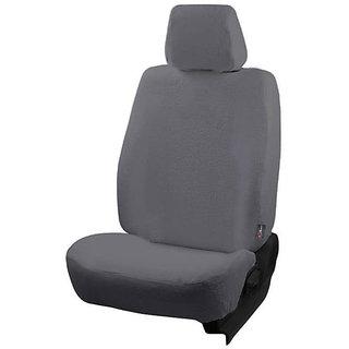 Autofurnish (TW-302) Datsun Go (2014) Car Seat Covers Towel (Grey)