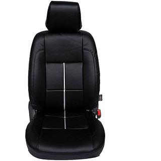 Autofurnish (CZ-103 Diva Black) Toyota Innova Old 7S Leatherite Car Seat Covers