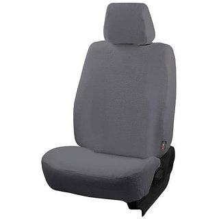 Autofurnish (TW-302) Honda Brio 2013-14 Car Seat Covers Towel (Grey)