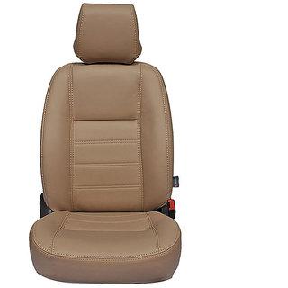 Autofurnish (CZ-104 Ice Beige) Mahindra Quanto 7S Leatherite Car Seat Covers