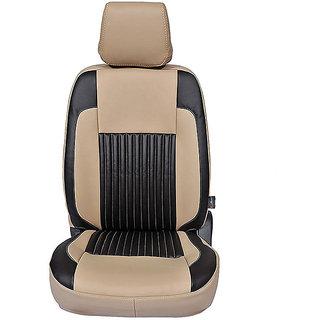 Autofurnish (CZ-108 Liberty Beige) Chevrolet Beat 2009-14 Leatherite Car Seat Covers