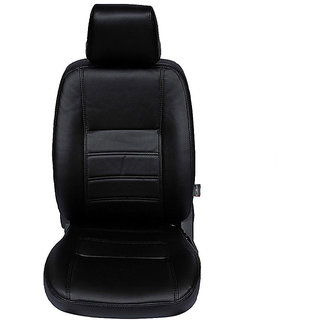 Autofurnish (CZ-105 Ice Black) TATA SAFARI STORME Leatherite Car Seat Covers