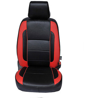 Autofurnish (CZ-110 Liberty Red) Honda Amaze 2013-14 Leatherite Car Seat Covers