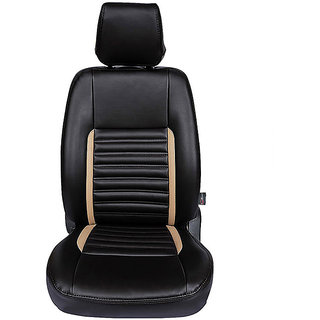 Autofurnish (CZ-106 Jewel Beige) Chevrolet Beat 2009-14 Leatherite Car Seat Covers