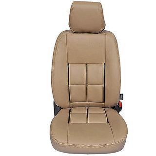 Autofurnish (CZ-111 Magicbox Beige) Mahindra Xylo 7S Captain Leatherite Car Seat Covers