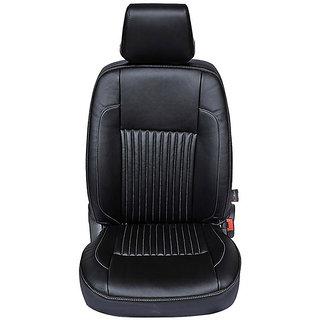 Autofurnish (CZ-116 Ricamo Black) Hyundai i10 New Leatherite Car Seat Covers