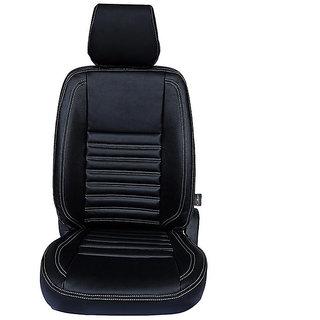 Autofurnish (CZ-114 Milano Black) Honda Brio Leatherite Car Seat Covers