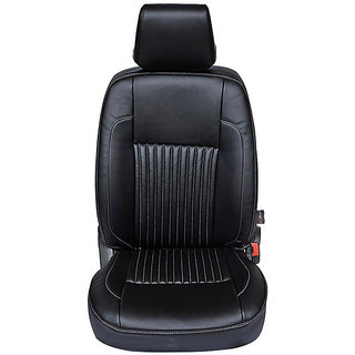 Autofurnish (CZ-116 Ricamo Black) Maruti Alto 800 (2013-14) Leatherite Car Seat Covers