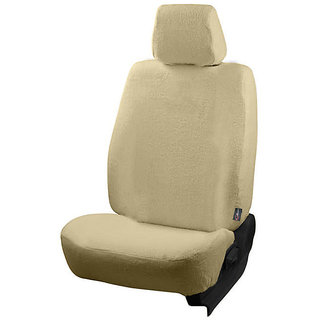 Autofurnish (TW-303) Honda Amaze 2013-14 Car Seat Covers Towel (Beige)
