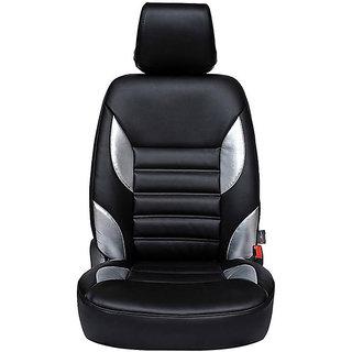 Autofurnish (CZ-115 Moon Black) Toyota Innova (2014) Leatherite Car Seat Covers