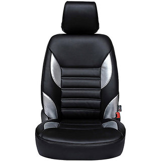Autofurnish (CZ-115 Moon Black) Maruti Zen Estilo New Leatherite Car Seat Covers