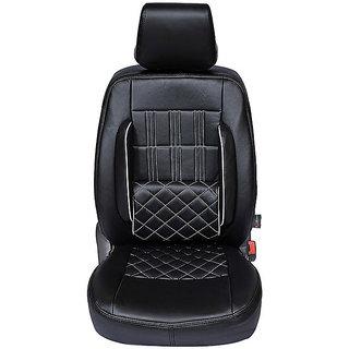 Autofurnish (CZ-118 Sicilia Black) Chevrolet Beat Leatherite Car Seat Covers