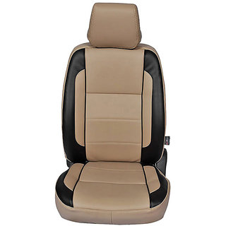 Autofurnish (CZ-123 Togo Beige) Hyundai Santro Xing Leatherite Car Seat Covers