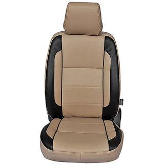 Autofurnish (CZ-123 Togo Beige) Fiesta (2012-14) Leatherite Car Seat Covers
