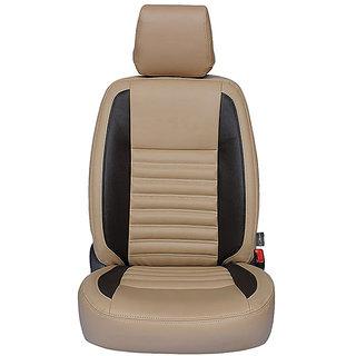 Autofurnish (CZ-113 Milano Beige) Honda Jazz Leatherite Car Seat Covers