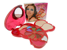 Kiss- Touch High Quality Makeup kit 4 in One Makeup Kit-K6040