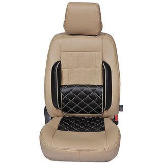 Autofurnish (CZ-117 Sicilia Beige) Mistubushi Lancer(1998-06) Leatherite Car Seat Covers