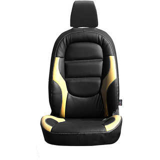 Autofurnish (CZ-125 Riva Black) Chevrolet Beat Leatherite Car Seat Covers
