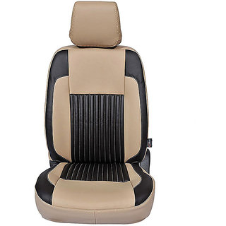 Autofurnish (CZ-108 Liberty Beige) Renault Kwid Leatherite Car Seat Covers