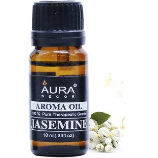 AuraDecor Jasmine Aromatherapy Oil, 10ml