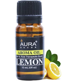 AuraDecor Lemon Aromatherapy Oil, 10ml