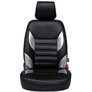 Autofurnish (CZ-122 Soul Black) Mahindra KUV100 Leatherite Car Seat Covers