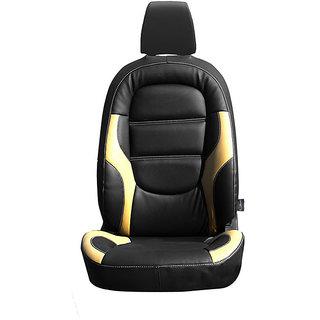 Autofurnish (CZ-125 Riva Black) Mahindra KUV100 Leatherite Car Seat Covers