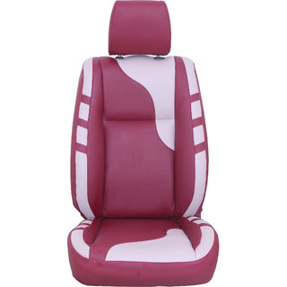 Autofurnish (CZ-128 Camber Cherry) NISSAN EVALIA Leatherite Car Seat Covers