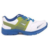 Foot N Style White & Green Sports Shoes FS470
