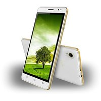 INTEX AQUA SLICE II 8GB BLACK & GOLD (6 Months Seller Warranty)