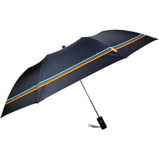Fendo 2 fold auto open color full border umbrella for gents