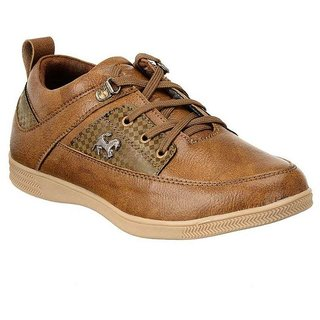 Aadi Brown Lifestyle Shoes